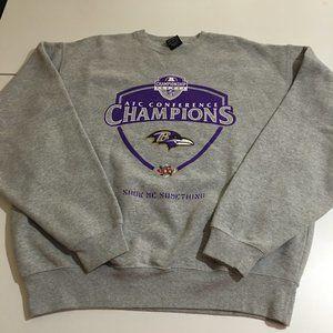Nike Baltimore Ravens NFL Mens Medium Sweatshirt